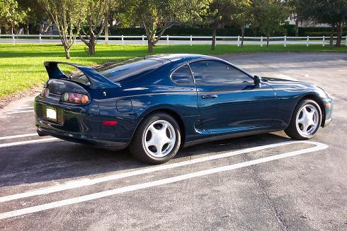 Baltic Blue 1994 Toyota Supra Toyota Supra For Sale