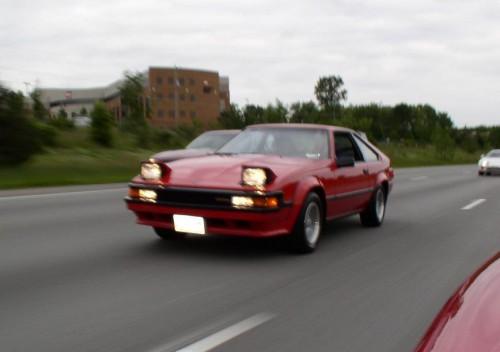 Red 1984 Toyota Supra - Toyota Supra For Sale ...