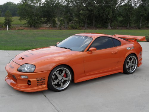 Candy Sunburst Orange 1994 Toyota Supra - Toyota Supra For