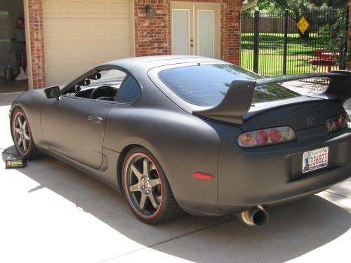 Matte Black 1998 Toyota Supra Toyota Supra For Sale