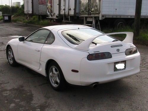 white 1998 toyota supra toyota supra for sale car is in excellent. Black Bedroom Furniture Sets. Home Design Ideas