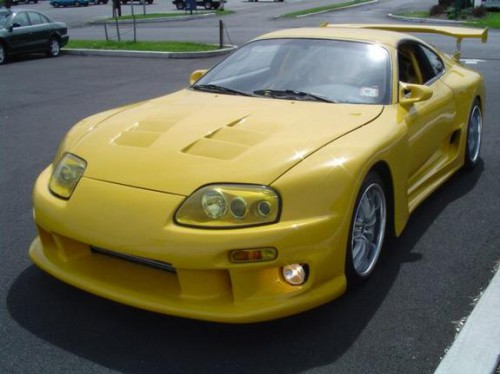 Yellow 1998 Toyota Supra Toyota Supra For Sale